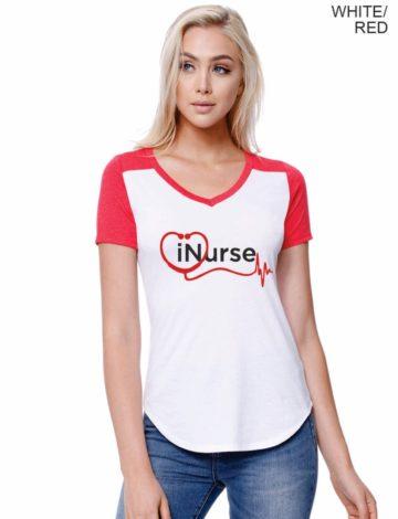 iNurse Jersey Style T-Shirt