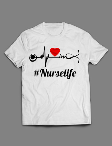 #Nurselife t-shirt